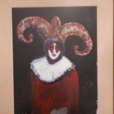 Arte: BONITA PINTURA AL OLEO SOBRE PAPEL FIRMADA E.BARCELONA. Lote 105334039