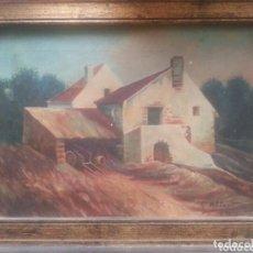 Arte: OLEO SOBRE TELA DE ALBERTI 1926 FIRMADO. Lote 105339407
