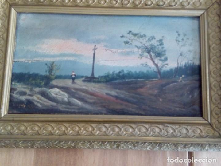 Arte: Preciosa pareja de tablas antiguas - Foto 2 - 105366727