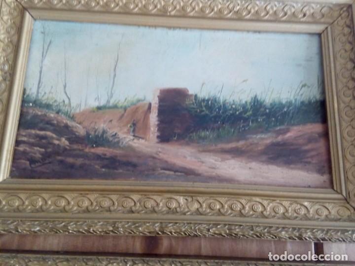 Arte: Preciosa pareja de tablas antiguas - Foto 3 - 105366727