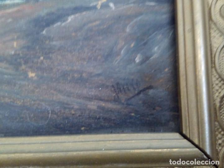Arte: Preciosa pareja de tablas antiguas - Foto 4 - 105366727
