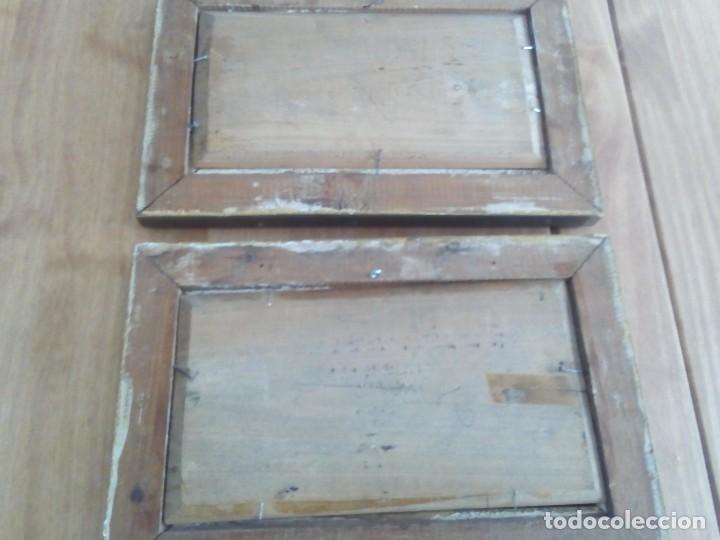 Arte: Preciosa pareja de tablas antiguas - Foto 5 - 105366727