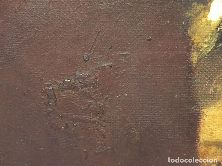 Arte: RETRATO DE DAMA. ÓLEO SOBRE LIENZO. FIRMADO MARQUES (GARCIA) ESPAÑA. FIN XIX - Foto 6 - 105422159