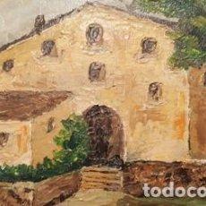 Arte: CUADRO PINTADO AL OLEO - SIN MARCO -DE MEDIDAS 35 CTMS DE ANCHO X 27 CTMS DE ALTO -. Lote 105465611