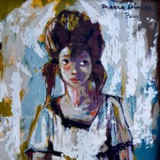 Arte: PIERRE DINER (FRANCIA 1932-2015), PRECIOSA PINTURA ORIGINAL FIRMADA.. Lote 105818630