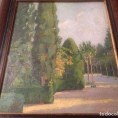 Arte: ASENSIO MARINÉ, JOAQUÍN (1890-1960), PAISAJE AL ÓLEO, FIRMADO Y ENMARCADO. Lote 105840403