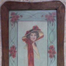 Arte: B- 547.PINTURA SOBRE TELA, FIRMADO C.PERIS 1920.. Lote 105886367