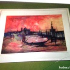 Arte: BARCOS VENECIA . MUY ORIGINAL. Lote 105923811