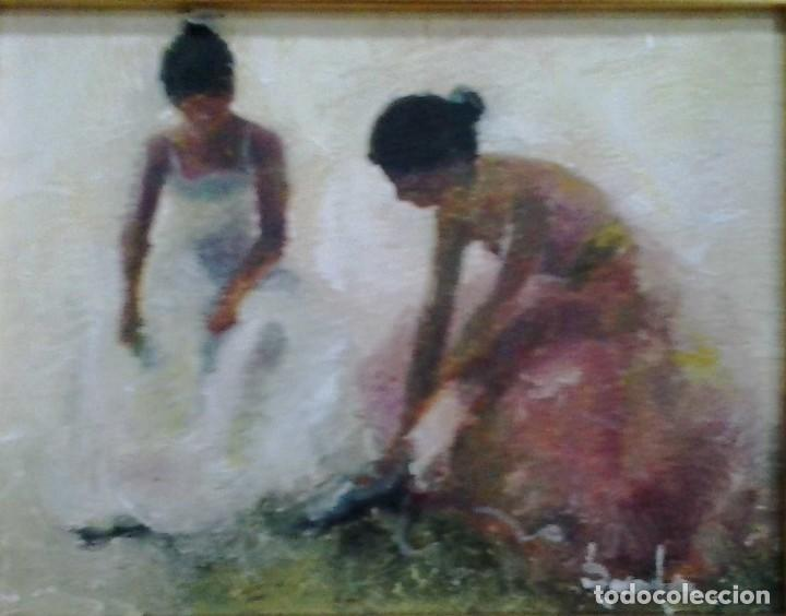 RAMÓN POVEDA IBARS. PINTOR NACIDO EN SABADELL EN 1936 (Arte - Pintura - Pintura al Óleo Contemporánea )