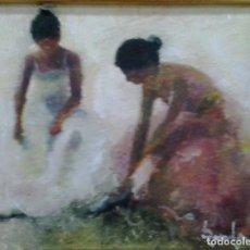 Arte: RAMÓN POVEDA IBARS. PINTOR NACIDO EN SABADELL EN 1936. Lote 105928691