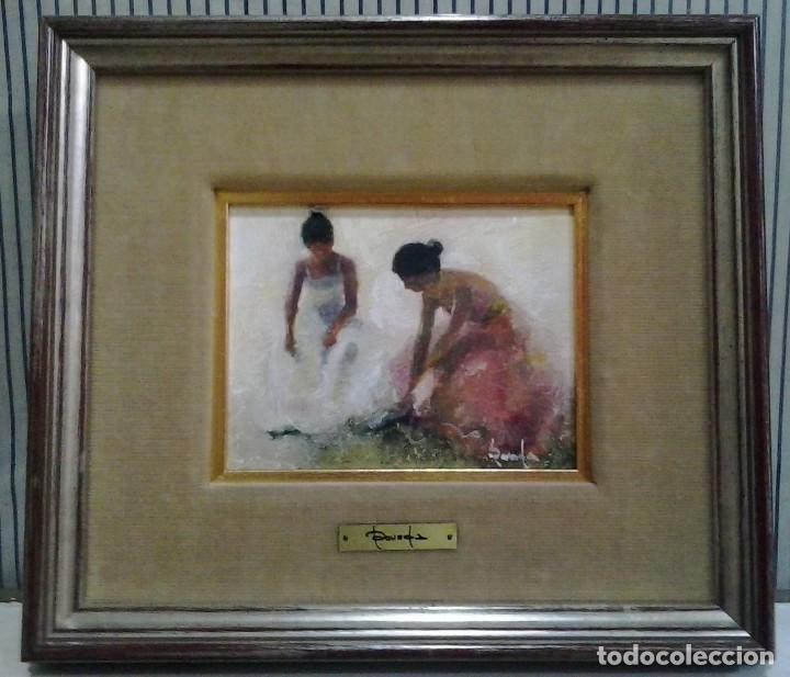 Arte: Ramón Poveda Ibars. Pintor nacido en Sabadell en 1936 - Foto 2 - 105928691