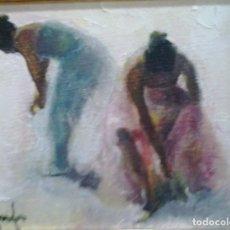 Arte: RAMÓN POVEDA IBARS. PINTOR NACIDO EN SABADELL EN 1936. Lote 105929631