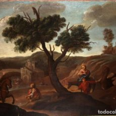 Arte: ESCUELA FLAMENCA DEL SIGLO XVIII. OLEO SOBRE TELA. Lote 105971707