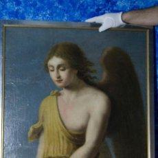 Arte: OLEO ANTIGUO SIGLO XIX ANGEL CUPIDO. Lote 107473863