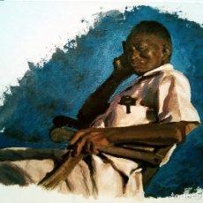 Arte: CUBANO - ACRÍLICO SOBRE PAPEL. Lote 106061011