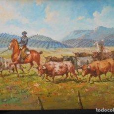 Arte: TORADA DE DELGADO ROMERO. Lote 106105015