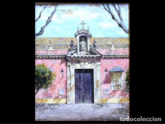 PLAZA SAN LORENZO SEVILLA (Arte - Pintura - Pintura al Óleo Contemporánea )