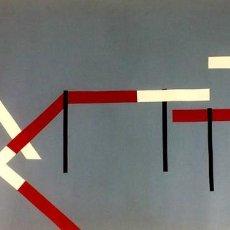 Kunst - COMPOSICIÓN ABSTRACTA. PINTURA. ÓLEO SOBRE LIENZO. ANÓNIMO. ESPAÑA. SIGLO XX - 106152507