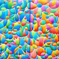 Arte: FLORES DE BODA LA NOVIA Y EL NOVIO. Lote 106167419