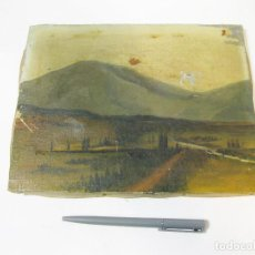 Arte: OLEO FIRMADO POR JIMENEZ DE UN PAIDASE CASTELLANO. Lote 106191019