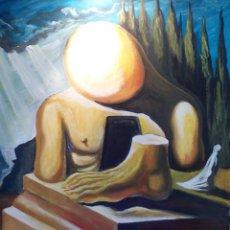 Arte: COPIA DE DALI,PINTURA SOBRE TELA.. Lote 106226987