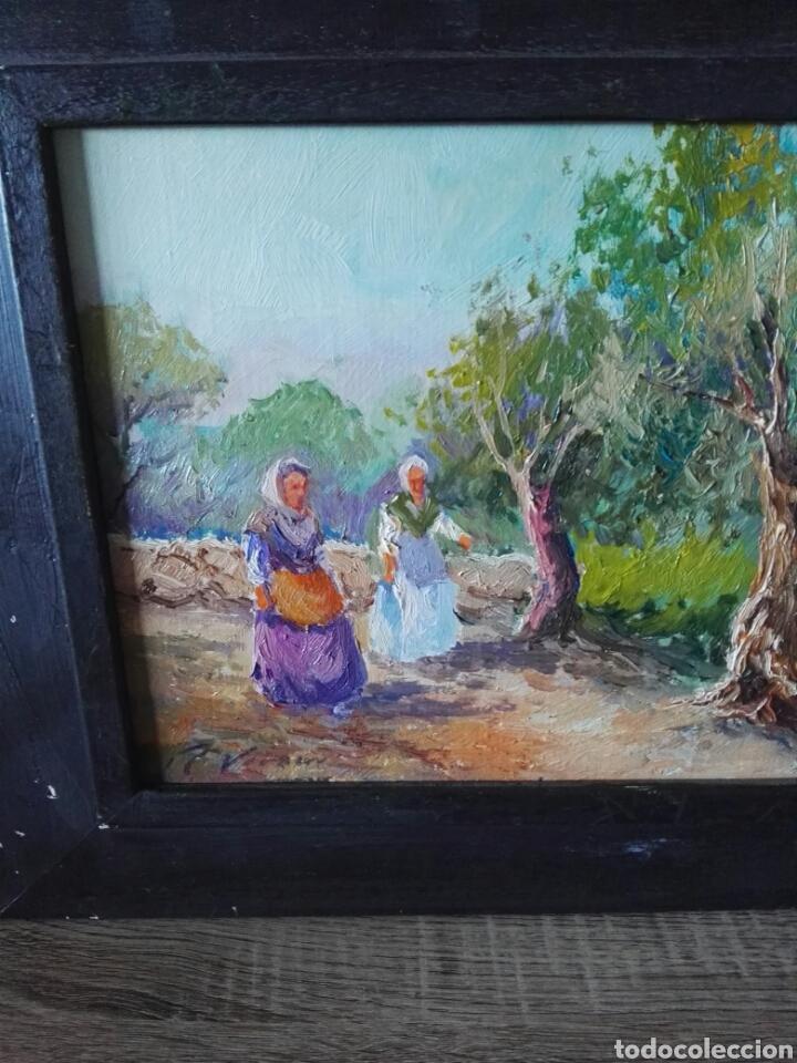 Arte: Pintura oleo sobre lienzo N Veracruz titulo olivos - Foto 2 - 106581592