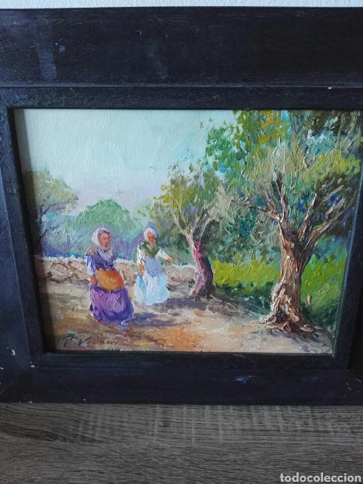 Arte: Pintura oleo sobre lienzo N Veracruz titulo olivos - Foto 3 - 106581592