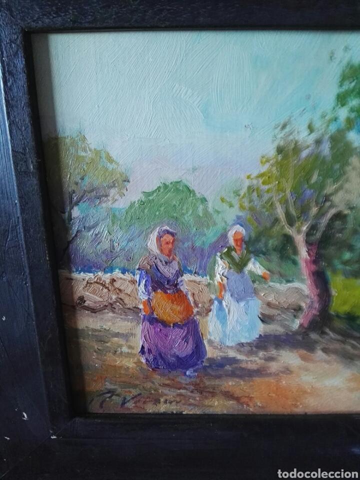 Arte: Pintura oleo sobre lienzo N Veracruz titulo olivos - Foto 4 - 106581592