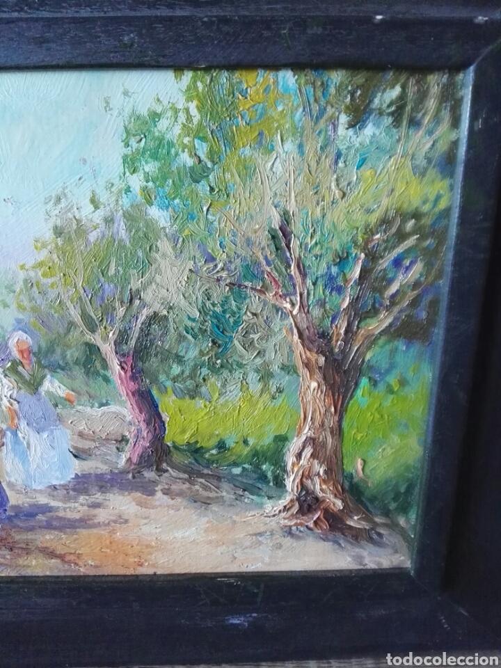 Arte: Pintura oleo sobre lienzo N Veracruz titulo olivos - Foto 6 - 106581592