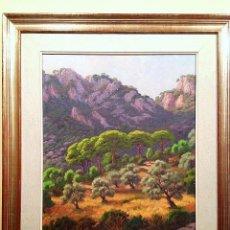 Kunst - Cuadro Óleo Del Pintor A. Truyol Paisaje Mallorquín - 106618883