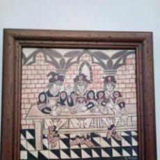 Arte: SOCARRAT PINTADO A MANO. Lote 106652595