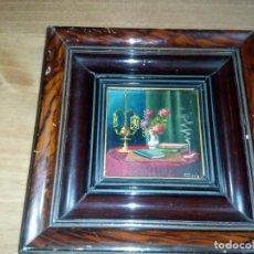 Arte: PRECIOSA TABLA EN MINIATURA . Lote 106808687