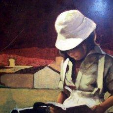 Arte: OBRA DE LA ESCUELA TORRES GARCIA ESCUELA DEL SUR O/ TABLE AÑOS 80 FIRMA ILEGIBLE MED 75 X 60 CM FIRM. Lote 106899459