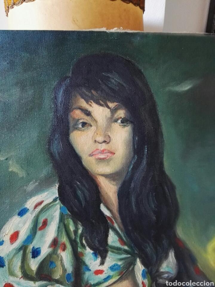 Arte: Pintura antigua oleo sobre lienzo sin firma 50x60cm - Foto 5 - 106919912