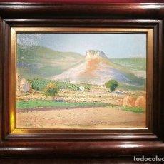 Arte: PAISAJE DE CASTILLA POR AURELIANO DE BERUETE (1845-1912). Lote 106944315