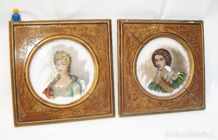 preciosa pareja cuadro pinturas antiguas romant - Comprar Pintura al ...