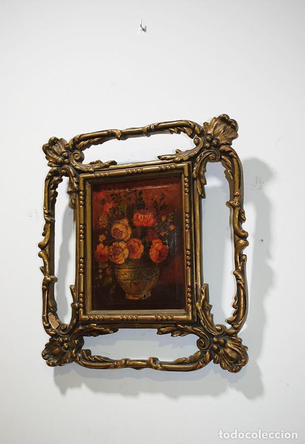 LIENZO BODEGÓN ENMARCADO (Arte - Pintura - Pintura al Óleo Contemporánea )
