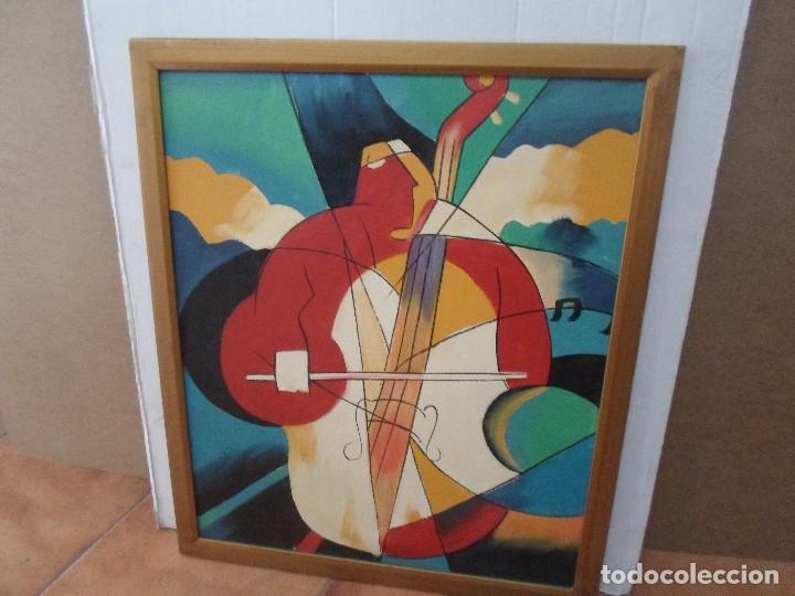 PINTURA MOTIVO MUSICAL (Arte - Pintura - Pintura al Óleo Contemporánea )