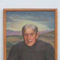 Arte: INTERESANTE RETRATO. OLEO S/ LIENZO. CESAR FERNANDEZ ARDAVIN (1883-1974) . Lote 107638191