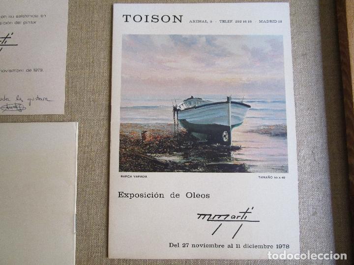 Arte: OLEO DE MIGUEL MARTI (1978) - Foto 4 - 107694871