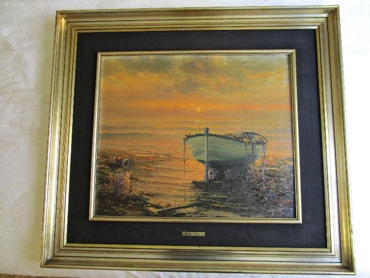 OLEO DE MIGUEL MARTI (1978) (Arte - Pintura - Pintura al Óleo Antigua sin fecha definida)