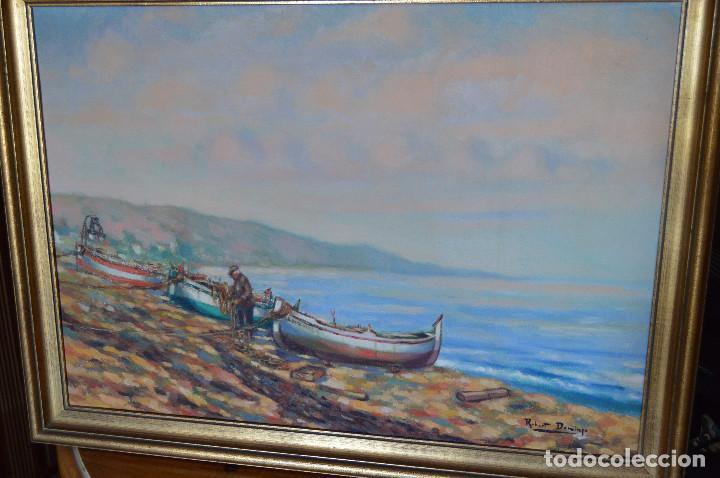ÓLEO ROBERT DOMINGO - GALERÍA J. RIGOL GINEBRA - BARCELONA (Arte - Pintura - Pintura al Óleo Contemporánea )