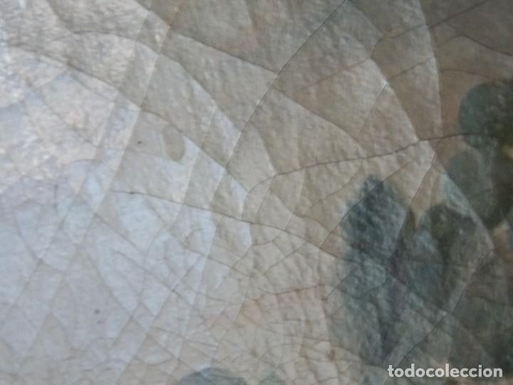 Arte: Antiguo oleo sobre tapiz lienzo bodegón Frances // France oil canvas - Foto 5 - 108028599