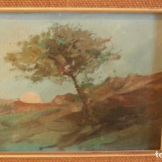 Arte: PINTURA AL OLEO DE PEDRO DE VALENCIA 1902-1971. Lote 108030783