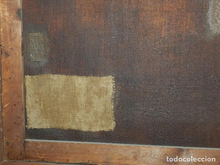 Arte: (M) PINTURA ANTIGUA AL OLEO DEL S.XVII POSIBLEMENTE FLAMENCA COSTUMBRISTA (ORIGINAL) VER FOTOGRAFIAS - Foto 23 - 108073875