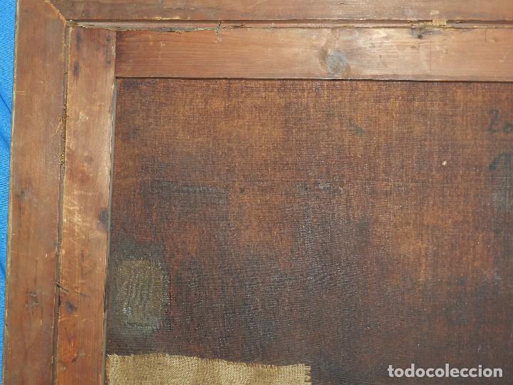 Arte: (M) PINTURA ANTIGUA AL OLEO DEL S.XVII POSIBLEMENTE FLAMENCA COSTUMBRISTA (ORIGINAL) VER FOTOGRAFIAS - Foto 26 - 108073875