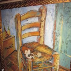 Arte: CUADRO OLEO SOBRE TABLA ENMARCADO, MEDIDAS CON MARCO: 60 X 50,5. Lote 108314231