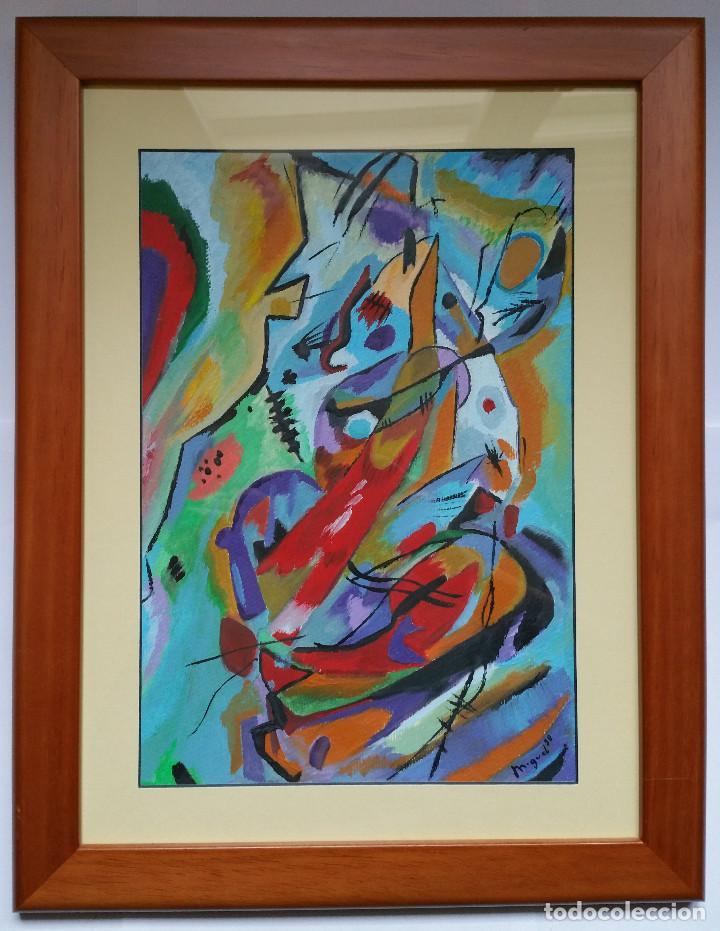 3 cuadros pintados al óleo enmarcados de 45x35 - Comprar Pintura ...