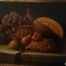 Arte: ÓLEO SOBRE LIENZO BODEGÓN SIGLO XVIII. Lote 108123391
