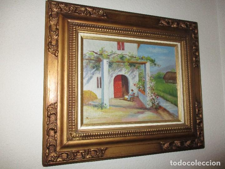 Arte: oleo lote de cuadros al oleo de distintas epocas con estilo clasico y variado - Foto 6 - 108398851